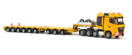 IMC Yellow series Mercedes Benz Arocs BigSpace 8x4 Nooteboom MCO-PX 3+6 axle